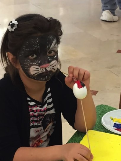 Maquillage enfant, maquilleuse, animation centre commercial, #cgorganisation #varanneevent #maquillageenfant 1.jpg