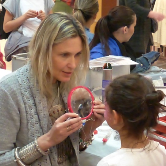 Maquillage enfant, maquilleuse, animation centre commercial, #cgorganisation #varanneevent #maquillageenfant.jpg
